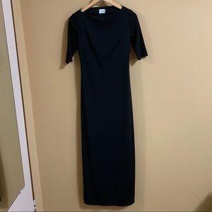 Jacob Black Maxi Dress